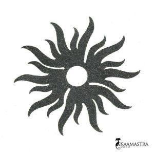 The Black Curl Navel Jewel-BCNJAC at Kaamastra