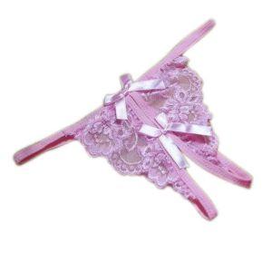 Kaamastra Pink Crotchless Thong-ARPC at Kaamastra