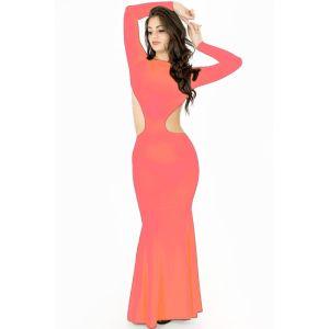 Kaamastra Pink Belly Baring Dress-QC9346 at Kaamastra