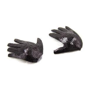 Kaamastra Sequined Glove Pasties-Q2ILF1019 at Kaamastra