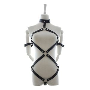 Kaamastra Leather Harness-Q2ILF1098 at Kaamastra