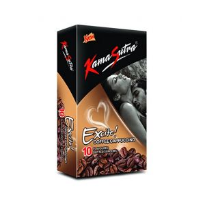 Kamasutra Excite Coffeecappuccino Pack of 10-KSECC10 at Kaamastra
