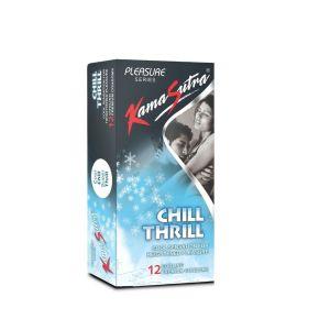 Kamasutra Chill Thrill Pack of 12-KSCT12 at Kaamastra
