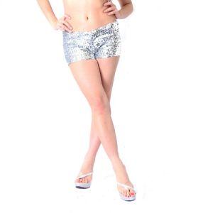 Kaamastra Hot Sequin Shorts-LB6194 at Kaamastra