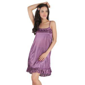 Kaamastra Natasha Purple Babydoll