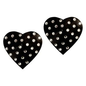 Kaamastra Sexy Black Heart Shape Nipple Pasties