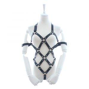 Kaamastra Faux Leather Body Harness