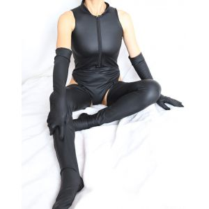 Kaamastra Milena Latex Cleavage Bodysuit
