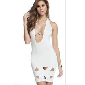 Kaamastra White Diamond Dress