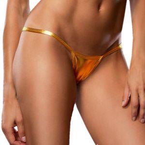 Kaamastra Sexy Women Lingerie G-String Golden