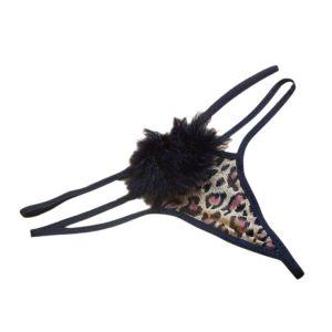 Kaamastra Leopard Fur Thong