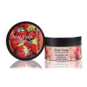 ALoe Veda Luxury Body Butter - Strawberry