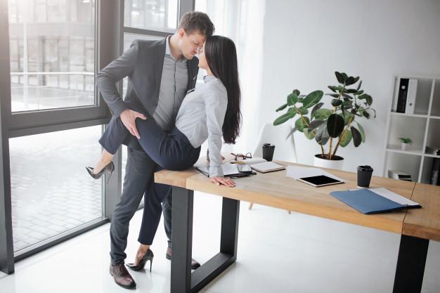 Sex at office