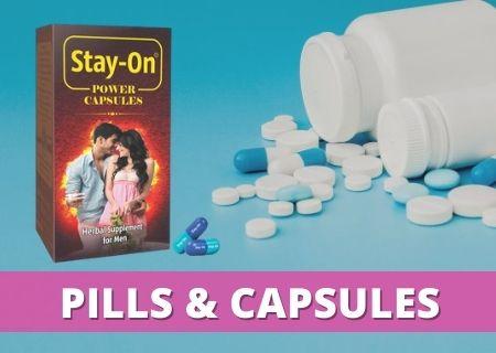 Delay pills & capsules