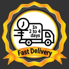Fast Delivery In 2-4 Business Days