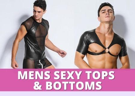 Men Sexy Top & Bottoms
