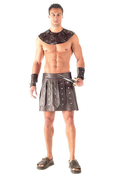 Kaamastra 2 Piece Barbarian Gladiator Costume For Men-