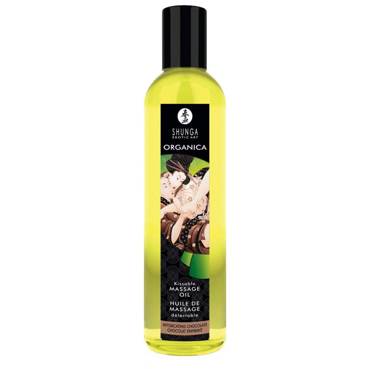 Sunga Erotic Art Organica Kissable Massage Oil Intoxicating Chocolate -