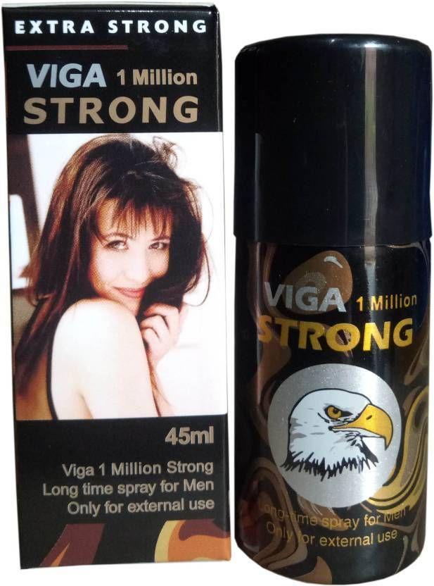 Viga 1 Million Strong Long Time Desensitising Spray For Men –