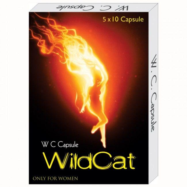 Wild Cat Capsules 1 X 10 –